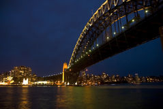 Sydney by night Royalty Free Stock Photo