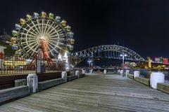 Sydney Night fotografia stock