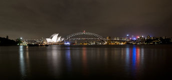Sydney in the night Stock Photo