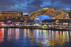 Sydney at Night Stock Image