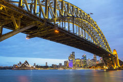 Sydney At Night Stock Photos