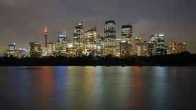 Sydney Night Stock Photo