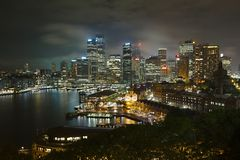 Sydney Night Royalty Free Stock Photo