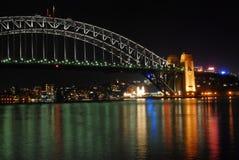Sydney nightshot Stockbilder