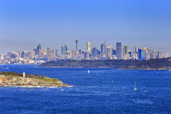 Sydney North Head 160mm day Royalty Free Stock Photo