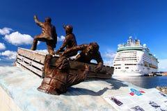 Sydney Nova Scotia Luxury und Gefahr in Meer stockbild