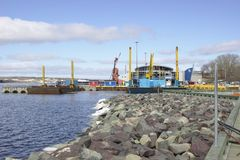 Sydney Novia Scotia Harbor 2564 image libre de droits