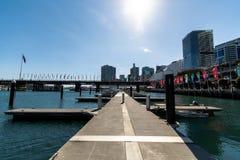 Sydney, NSW/Australia : District des affaires central - Darling Harbour photo stock