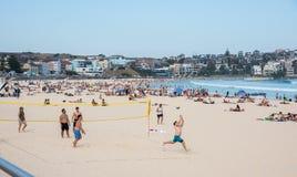 Bondi Beach Volleyball royalty free stock photos