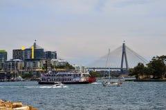 Australia, Sydney, Cockle Bay stock photo