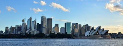 Sydney, NSW, Australia skyline and cityscape. View of Sydney`s skyline, cityscape and Sydney Opera House. Sydney, NSW, Australia Stock Images