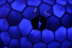 SYDNEY NSW, AUSTRALIEN - JUNI 2, 2014; Cell- Tessellation på V Arkivfoton
