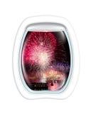 Sydney NYE flight Stock Images
