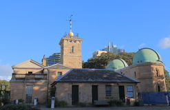 Sydney Observatory historical architecture Australia. Sydney Observatory historical architecture in Australia stock photos