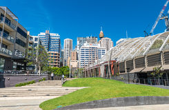 SYDNEY - OCTOBER 2015: Buildings of Sydney Harbour. Sydney attra Stock Photo