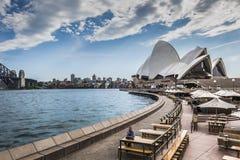 SYDNEY - OCTOBER 27 : Opera House on October 27, 2015 in Sydney. Royalty Free Stock Image