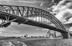 SYDNEY - OCTOBER 2015: Sydney Harbour Bridge. Sydney attracts 20 Royalty Free Stock Photo
