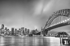 SYDNEY - OCTOBER 2015: Sydney Harbour Bridge. Sydney attracts 20 Stock Photography