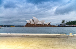SYDNEY - OCTOBER 2015: Sydney Opera House on a beautiful day. Sy Stock Photography
