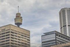 SYDNEY - OCTOBER 27: Sydney Tower on October 27, 2015 in Sydney, Royalty Free Stock Photography