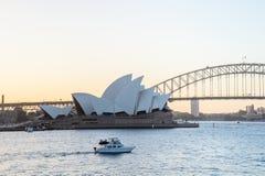 SYDNEY - 12 octobre : Vue de Sydney Opera House le 12 octobre 2017 à Sydney, Australie Photographie stock libre de droits