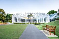 SYDNEY - Oktober 12: Blomfodret i Sydney Royal Botanic Garden på Oktober 12, 2017 i Sydney, Australien Arkivbild