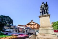 SYDNEY - Oktober 12: HYDE PARKEN INKVARTERA I EN BARACK MUSEET 1819, plats för straffånge för världsarv en australisk, Oktober 12 Royaltyfri Bild