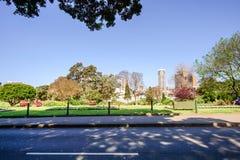 SYDNEY - Oktober 12: Sydney i stadens centrum gatasikt, Oktober 12, 2017 i Sydney Arkivbilder