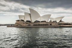 SYDNEY - OKTOBER 27: Operahus på Oktober 27, 2015 i Sydney Arkivfoto