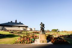 SYDNEY - 12 oktober: Sydney Royal Botanic Garden op 12 Oktober, 2017 in Sydney Stock Afbeeldingen