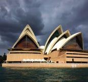 Sydney opera fotografia stock