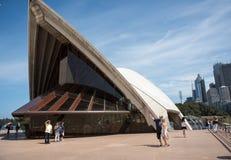 Sydney opera: Architektoniczny szczegół fotografia stock