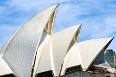 Sydney opera, dachowy szczegół zdjęcia royalty free