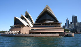 Sydney Opera House. From Sydney Harbour, Australia Stock Photos