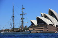 Sydney Opera House Foto de archivo libre de regalías
