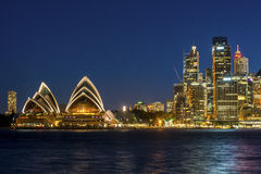 Sydney Opera House Royalty-vrije Stock Foto's