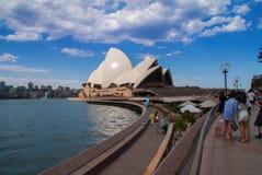 Sydney Opera House Royaltyfri Bild