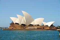 Sydney Opera House. Famous landmark, the Sydney Opera House is located on Sydney Harbour Stock Photography