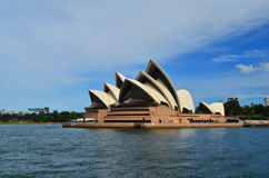 Sydney Opera House 3. Sydney Opera House against blue sky Royalty Free Stock Images