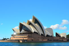 Sydney Opera House 6. Sydney Opera House against blue sky Stock Photography