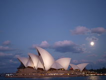 Sydney Opera House al crepuscolo Immagini Stock