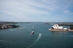 Sydney Opera House al punto di Bennelong Immagini Stock
