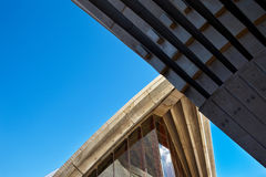 Sydney Opera house architecture Royalty Free Stock Photo