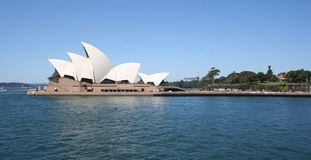 Sydney Opera House, Australia. Sydney Opera House and Sydney Botanical Gardens from Sydney Harbour, Australia Royalty Free Stock Photos