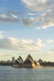 Sydney Opera house. Australia Sydney CBD panoramic view from Kirribilli before sunset Royalty Free Stock Images