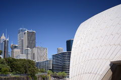 Sydney opera house Australia . Royalty Free Stock Photo