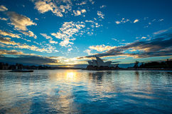 Sydney Opera house. Royalty Free Stock Photo