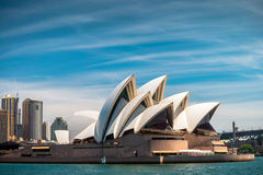 Sydney Opera House. Sydney, Australia - November 10, 2015: The Sydney Opera House is a multi-venue performing arts centre identified as one of the 20th century's Royalty Free Stock Photography