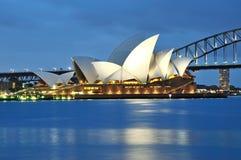 The Sydney Opera House Royalty Free Stock Photos