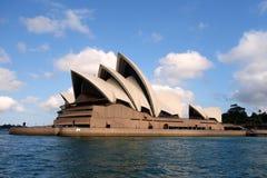 Sydney Opera House. Bennelong Point, Circular Quay, Sydney, NSW, Australia, designed by Joern Utzon Stock Photography